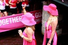 Orgulho alegre 2011 de Amsterdão fotos de stock