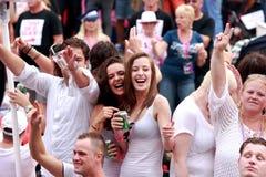 Orgulho alegre 2011 de Amsterdão imagem de stock royalty free