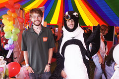Orgulho alegre 2011 de Bristol Imagens de Stock