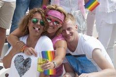 Orgulho alegre Amsterdão 2015 Foto de Stock