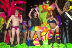 Orgulho alegre de Las Vegas Foto de Stock Royalty Free