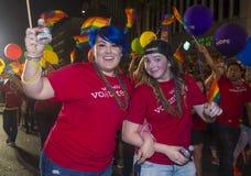 Orgulho alegre de Las Vegas Imagens de Stock Royalty Free