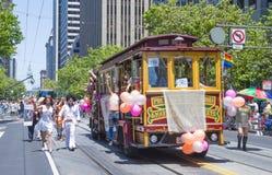 Orgulho alegre de San Francisco Fotografia de Stock