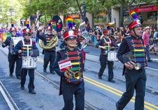 Orgulho alegre de San Francisco Imagem de Stock Royalty Free