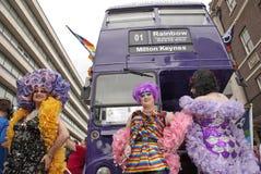 Orgulho alegre em Londres Fotografia de Stock
