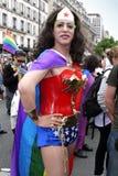 Orgulho alegre 2013 em Paris Fotografia de Stock