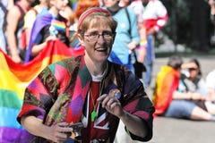 Orgulho alegre em Riga 2008 Foto de Stock Royalty Free