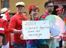 Orgulho alegre liberal Imagem de Stock Royalty Free