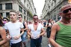 Orgulho alegre Milão junho 12, 2010 Fotos de Stock Royalty Free