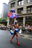 Orgulho alegre Parade1 de New York fotografia de stock royalty free