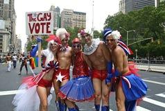 Orgulho alegre Parade5 de New York fotos de stock royalty free