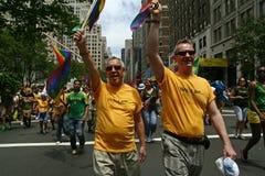 Orgulho alegre Parade6 de New York Foto de Stock