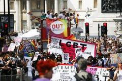 2013, orgulho de Londres Fotografia de Stock