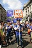 2013, orgulho de Londres Imagem de Stock