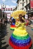 2013, orgulho de Londres Fotografia de Stock Royalty Free