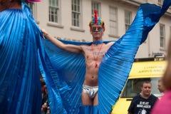 Orgulho 2014 de Londres Fotografia de Stock Royalty Free