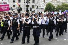 2015, orgulho de Londres Fotografia de Stock Royalty Free
