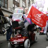 2012, orgulho de Londres, Worldpride Fotos de Stock