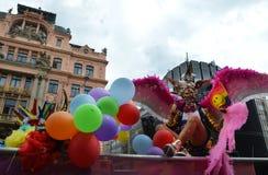 Orgulho de Praga imagem de stock