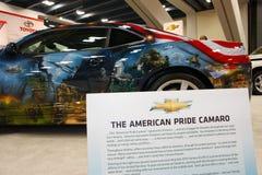 Orgulho do americano de Chevrolet Camaro SS Fotografia de Stock Royalty Free
