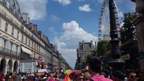 Orgulho em Paris fotos de stock