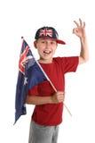 Orgulhosa Australian imagem de stock