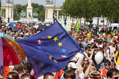 Orgullo 2011 de Bdapest Fotos de archivo libres de regalías