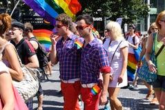 Orgullo 2012 de Praga Imagen de archivo libre de regalías
