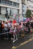 Orgullo alegre 2012 del mundo de Londres Fotografía de archivo