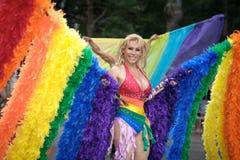 Orgullo alegre el marzo de 2010 de Nueva York Fotos de archivo libres de regalías
