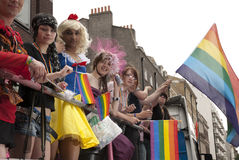 Orgullo alegre en Londres Fotos de archivo