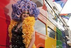Orgullo alegre en Londres Imágenes de archivo libres de regalías