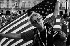 Orgullo americano Imagen de archivo libre de regalías