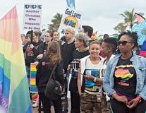 Orgullo 2016 de Durban Imágenes de archivo libres de regalías