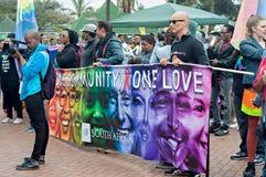 Orgullo 2016 de Durban Fotografía de archivo