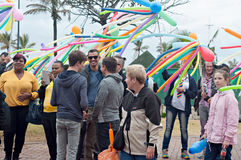 Orgullo 2016 de Durban Fotografía de archivo libre de regalías