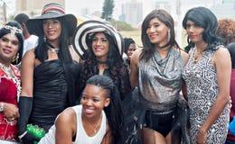Orgullo 2016 de Durban Fotos de archivo