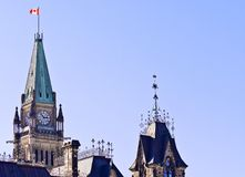 Orgullo de la torre de la paz Imagen de archivo libre de regalías