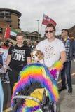 Orgullo 2017 de Liverpool Fotos de archivo libres de regalías