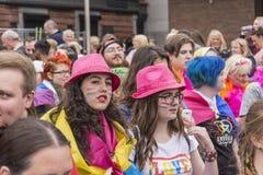Orgullo 2017 de Liverpool Foto de archivo