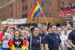Orgullo 2017 de Liverpool Imagenes de archivo