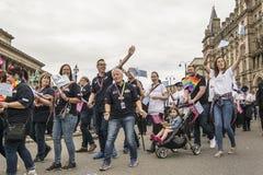 Orgullo 2017 de Liverpool Foto de archivo libre de regalías