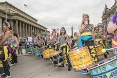 Orgullo 2017 de Liverpool Fotografía de archivo