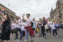 Orgullo 2017 de Liverpool Imagen de archivo