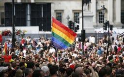 2013, orgullo de Londres Imágenes de archivo libres de regalías