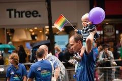Orgullo 2014 de Londres Fotos de archivo