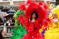 Orgullo 2014 de Londres Imagen de archivo libre de regalías