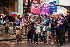 Orgullo 2014 de Londres Foto de archivo