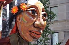 Orgullo de Toronto 2010 - Jesús femenino Fotos de archivo libres de regalías