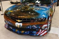 Orgullo del americano de Chevrolet Camaro SS Fotografía de archivo